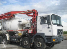 Camion béton malaxeur + pompe MAN F2000 35.403
