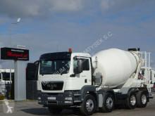 MAN betonkeverő beton teherautó TGS 32.360 / 8X4 / CEMENTMIXER 9 M3 / STETTER