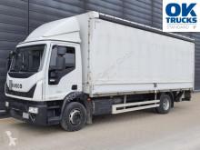 Camión lonas deslizantes (PLFD) Iveco Eurocargo ML140E28/PEVI_C / Schiebeplane / LBW / Junge