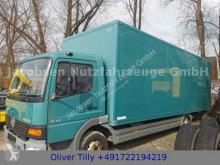 Teherautó Mercedes Atego Atego 818 Koffer LBW Dautel 7Meter Koffer használt furgon