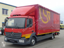 Camion Mercedes Atego 818*Euro6*TÜV*LBW*Klima*Edsch centinato alla francese usato