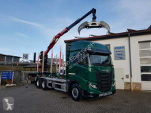 Vrachtwagen houtvrachtwagen Iveco S-Way AS300X57 Z/P HR ON+ 6x4 (6x6 Hi Traction)