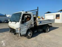 Camion tri-benne Mitsubishi Canter Fuso Canter Dreiseitenkipper Meiller Brandschade