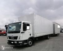 Camión remolque lona corredera (tautliner) MAN TGL TGL 12.220 Pritsche/Plane 3-Sitzer