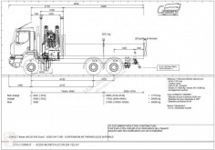 Camion benne Renault Kerax 460.26