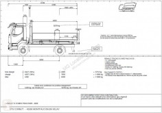 Renault D-Series 210 truck used hook arm system