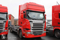 Scania alváz teherautó R 410 6X2 BDF Jumbo Topline Standklima etade