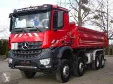 Camion benne Mercedes Arocs 4142 8x6 EURO6 DSK Meiller Kipper