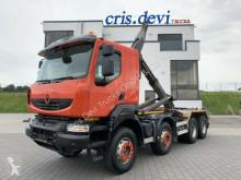 Renault hook arm system truck Kerax Kerax 460 8x4 Abrollkipper