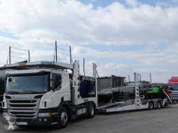 Lastbil Scania P 410/AUTOTRANSPORTER/ROLFO EGO4/EURO LOHR/9 CAR biltransport begagnad