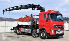 Camión caja abierta Volvo FH 12 460 Abrollkipper + Kran + FUNK *