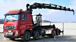Volvo skip truck FH 12 460 Abrollkipper + Kran + FUNK*