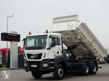 MAN TGS 33.360 / 6X6/ 2 SIDED KIPPER/BORTMATIC/ truck used flatbed