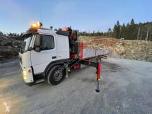Fassi dropside truck Volvo FM9 4x2 195A24 crane 19.5m