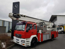 Camion MAN 18.280 F Feuerwehr Drehleiter WUMAG WTF 320 pompiers occasion