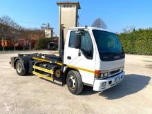 Camion Isuzu ISUZU 75 SCARRABILE BALESTRATO ANTERIORE E POSTERI polybenne occasion