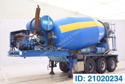 Yarı römork beton transmikser / malaksör MOL 11 M³ Mixer