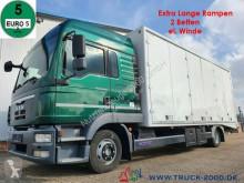 Camião MAN TGL TGL 9.220 geschlossen + extralange Rampen Klima porta carros usado