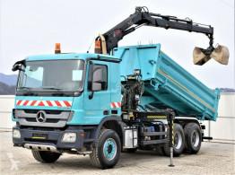 Camion cassone Mercedes Actros 2632 Bordmatic 4,80m+Kran*Topzustand*!