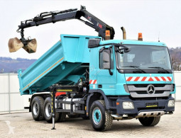 Mercedes Actros 2632 Bordmatic 4,80m+Kran*Topzustand*! truck used tipper