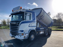 Camión Scania R520 6X4 RETARDER FULL STEEL EURO 6 ISOLATED ASPHALT TIPPER volquete usado