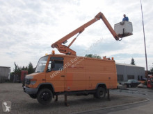 Camion nacelle télescopique Wumag WDT 155 + Mercedes 814