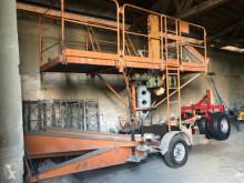 Sepetli vinç VEB Mastkletterbühne Arbeitsbühne Hebebühne FH 1600 DDR Bauaufzug Gerüst Lift