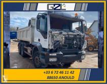 Camión Iveco Trakker 350 volquete volquete bilateral vehículo para piezas