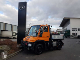 Camion plateau ridelles Unimog UNIMOG U300 4x4 Hydraulik Standheizung Klima