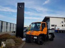 Camion Unimog Mercedes-Benz U300 4x4 Hydraulik Standheizung cassone fisso usato