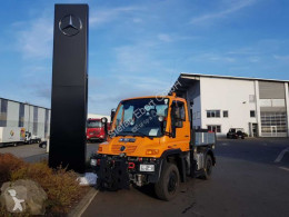 Unimog platóoldalak plató teherautó UNIMOG U300 4x4 Hydraulik Standheizung Klima