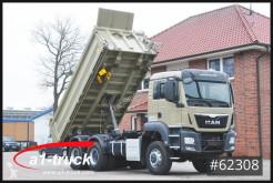 Camion benne MAN TGS 33.440, Meiller D316 Kipper, 6x6,