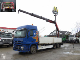 Camion Mercedes Actros 2544 L6x2 Pritsche Heckkran Funk, 23m to plateau ridelles occasion
