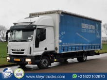 Lastbil Iveco Eurocargo skjutbara ridåer (flexibla skjutbara sidoväggar) begagnad