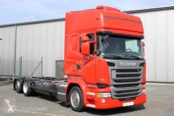 Camion Scania R 410 6X2 BDF Jumbo Topline Standklima etade châssis occasion