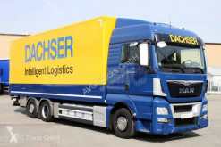 Camion MAN TGX 26.400 XLX Koffer 8,2 m LBW 2t Lenkachse fourgon occasion