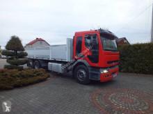Camión caja abierta teleros Renault Premium 370 DCI