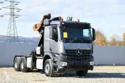 Lastbil sulky Mercedes AROCS 2851 SZM + KRAN HOLZ/SCHROTT * 6x4 !