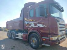 Lastbil Scania Granate 124 G470 6x4 Special truck Tipper-Tractor flak begagnad
