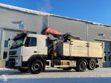 Lastbil Fassi Volvo FM 400 6x2 Dump truck with F235XP crane flak begagnad