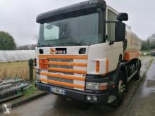 Camion Scania C 114C340 cisterna idrocarburi usato