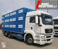 Kamion přívěs pro přepravu dobytka MAN