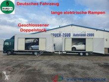 Kamion MAN TGM TGM 15.290 Doppelstock Geschlossen 3 Fahrzeuge nosič vozidel použitý