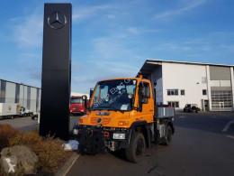 Camião Unimog U300 Mercedes-Benz U300 4x4 Hydraulik Standheizung estrado / caixa aberta caixa aberta usado