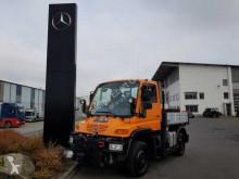 Camião Unimog Mercedes-Benz U300 4x4 Hydraulik Standheizung estrado / caixa aberta caixa aberta usado