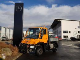 Camion plateau ridelles Unimog Mercedes-Benz U300 4x4 Hydraulik Standheizung