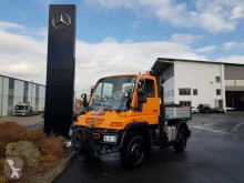 Camion Unimog UNIMOG U300 4x4 Hydraulik Standheizung Klima plateau ridelles occasion