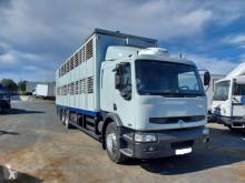 Renault Premium 370 DCI truck used livestock trailer