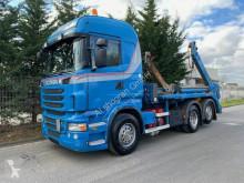 Scania skip truck R R440 LB6X2*4HNA Absetzkipper Meiller AK 16. T/Li