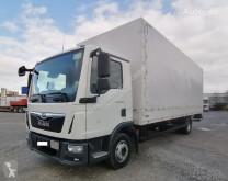 Camión lona corredera (tautliner) MAN TGL 12.220 Pritsche/Plane 3-Sitzer Klima AHK LBW (38)